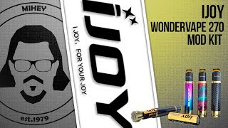 iJOY Wondervape 270 Kit. Не то пальто