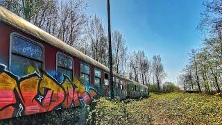 GEISTERZUG DER REICHSBAHN | Abgestellt auf einem verlassenen Bahngleis
