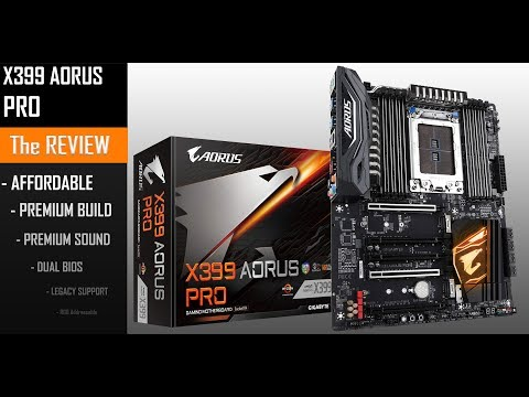 X399 AORUS Pro : focused on the essential!