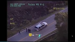 Helicopter Video of Police Killing Terence Crutcher