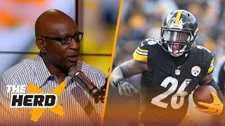 Eric Dickerson on Le'Veon Bell wanting to be paid like #1 RB and #2 WR, Rams QB situation | THE HERD