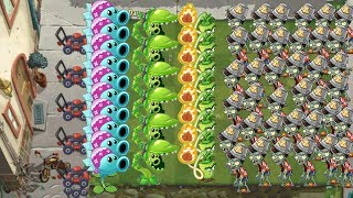 Dazey Chain, Snap Pea and Wasabi Whip - Plants Vs Zombies 2