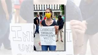 ICB (I Can't Breathe) Rally March Downtown Dayton, Ohio Federal Building, May 30th, 2020