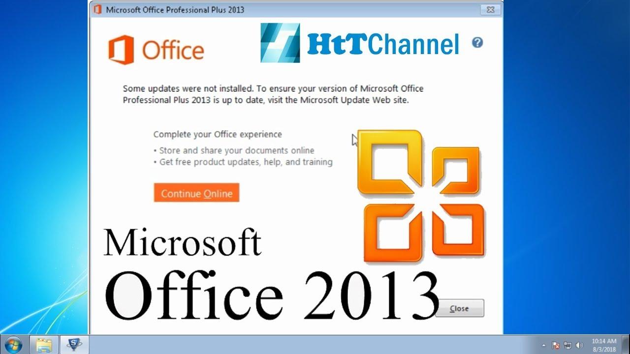 Install Windows Office 2013 Free
