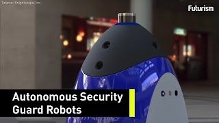 Security Guard Robots Could Cut Crime in Half