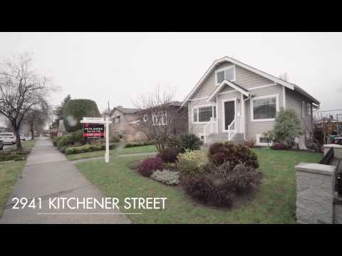 2941 Kitchener Street, Vancouver BC - Renfrew VE - For Sale