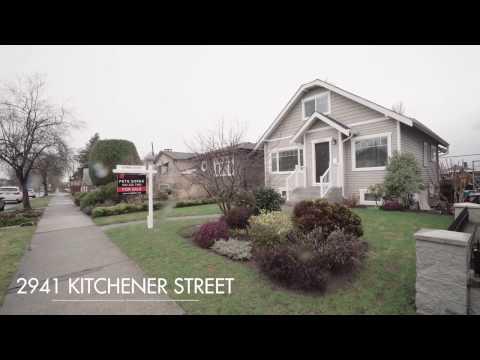 2941 Kitchener Street, Vancouver BC - Renfrew VE - For Sale