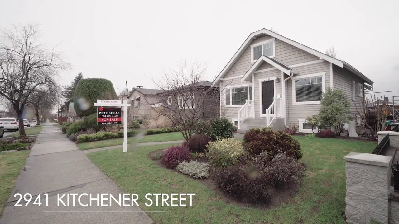 2941 kitchener street vancouver bc renfrew ve for sale