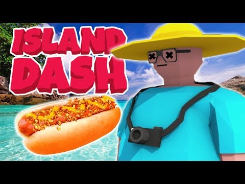 BEST FREE STEAM GAME EVER !!! - I Want A Hot Dog  (Island Dash)