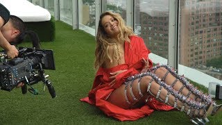rita ora anywhere behind the scenes