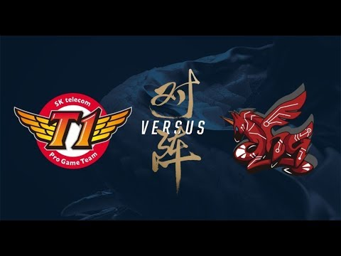 SK Telecom T1 vs ahq e Sports Club Day 3 Main Group Stage Round 1 World's 2017