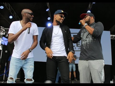 Download Fans Screams As Tuface Storms The Stage And calls Alexx Ekubo On Stage As He Dances Shaku Shaku