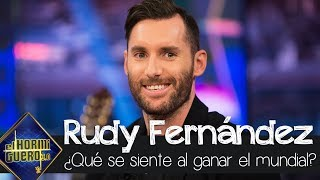 Rudy Fernández describe qué se siente ganar el Mundial de baloncesto con España - El Hormiguero 3.0