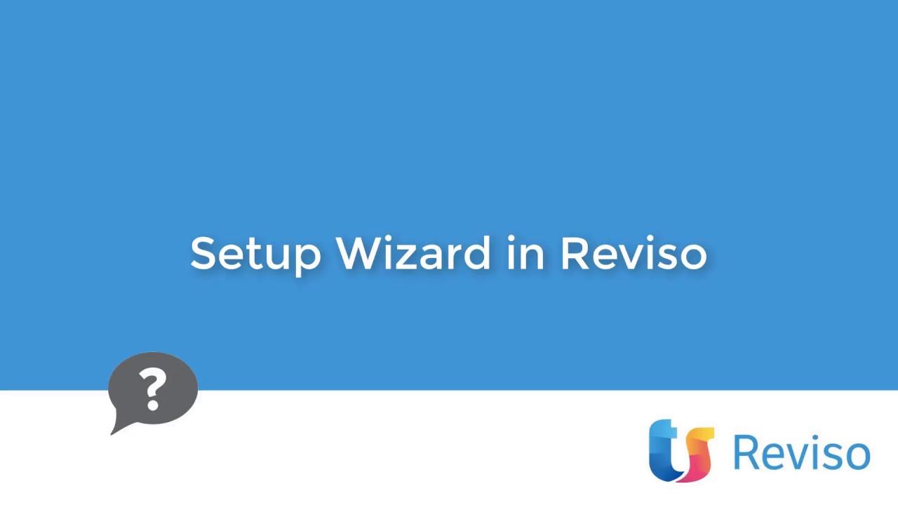 Download Reviso - wizard setup