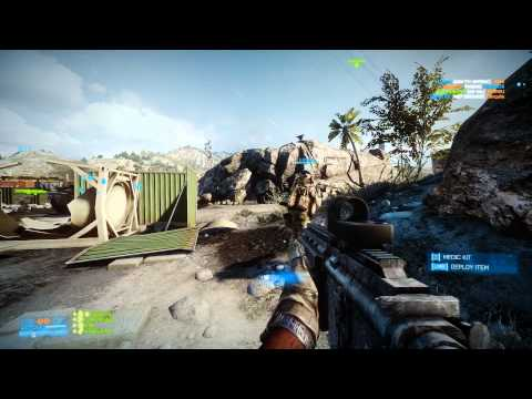 Battlefield 3 Multiplayer: Rush Attack on Kharg Island (K/D=20-5) (PC, Ultra, 1080p) GTX 680