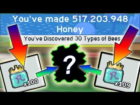 OPENING  *210*+  ROYAL JELLIES ( UNLOCKING ALL BEES )!!!! Baby Bee Hunting! - Bee swarm simulator