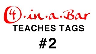 4 in a Bar Teaches Tags: #2 Like Leaves Will Fall YouTube Thumbnail