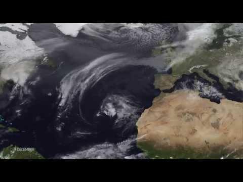 'Weather Bomb' - Explosive Cyclogenesis in the Atlantic