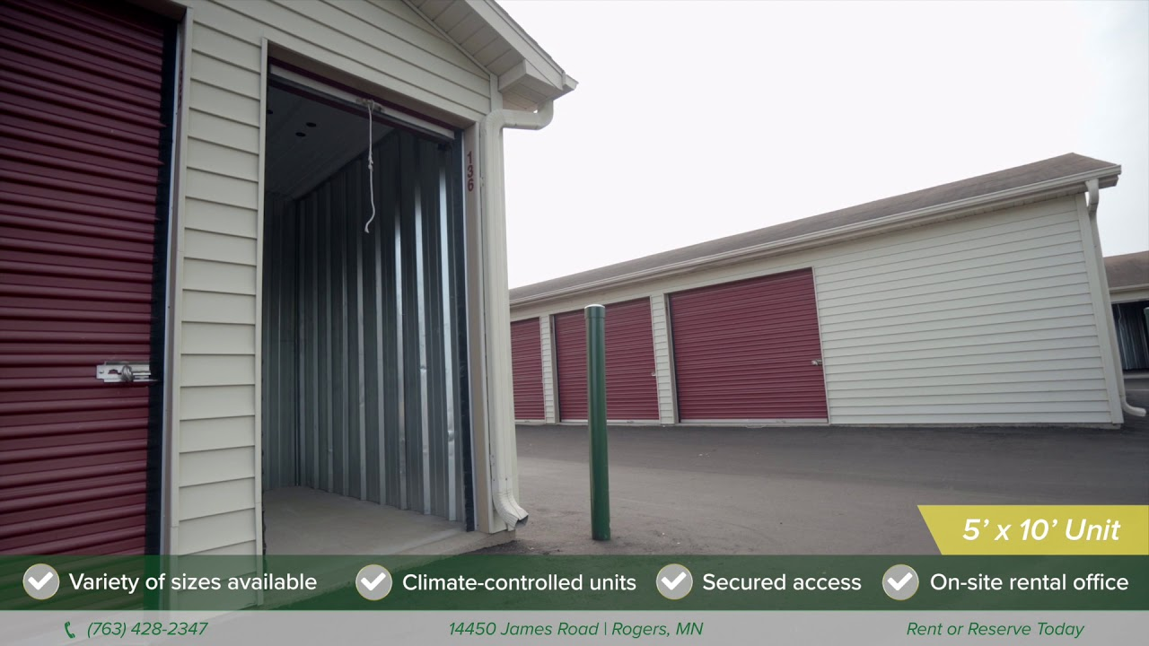 Self Storage Units In Rogers Mn, Climate Controlled Storage Units Maple Grove Mn