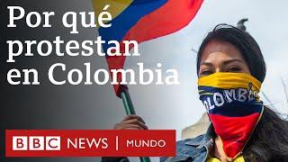 ¿Qué provocó la ola de protestas en Colombia? | BBC Mundo