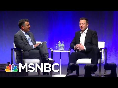 Tesla CEO Elon Musk Facing Federal Criminal Investigation | Velshi & Ruhle | MSNBC