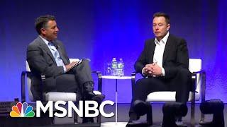 Tesla CEO Elon Musk Facing Federal Criminal Investigation   Velshi & Ruhle   MSNBC