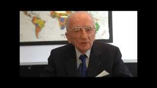 Benjamin Ferencz on the Crime of Aggression - Video Message for Slovenia ICC Seminar
