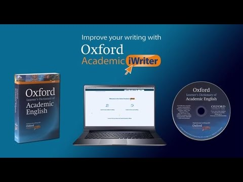 Oxford Academic iWriter