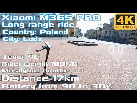 Xiaomi M365 PRO  true Long Range Ride around City 17KM  Full powa
