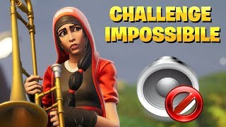 DOWN THE SOUNDS OF FORTNITE IN REAL TIME - CHALLENGE IMPOSSIBILE! ⛏️ Pazzox