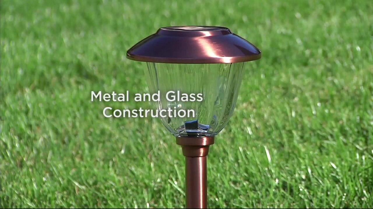 Solar Landscape Light Set On Qvc