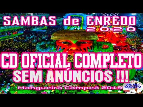 CD[OFICIAL]SAMBAS DE ENREDO 2020 GRUPO ESPECIAL RIO DE JANEIRO(COMPLETO) - COM LETRA