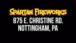 Spartan Fireworks Dynamite Bear