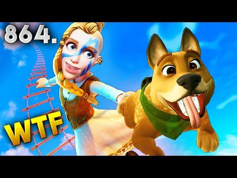 Fortnite Funny WTF Fails and Daily Best Moments Ep.864