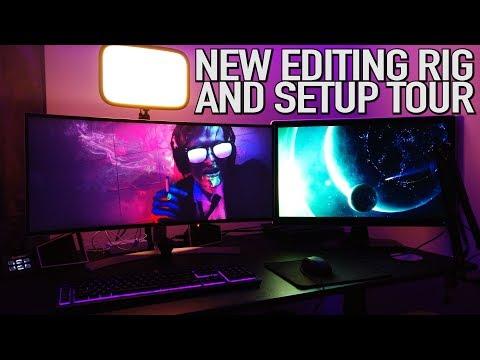 Pistol's New Editing Rig & Setup Tour | Intel i9 Upgrade & Build Video thumbnail