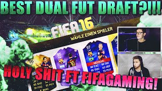 FIFA 16: BEST FUT DRAFT (DEUTSCH) - FIFA 16 ULTIMATE TEAM - CHALLENGE FT FIFAGAMING! HOLY SHIT!