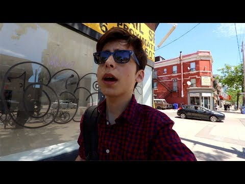 TORONTO CENTRE ISLAND, VIDEO EDITING, AND LUNCH  - Aidan Gallagher