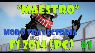 "COMENZAMOS! | Melbourne | ""MAESTRO"" Modo Trayectoria F1 2014! #1 McLaren Mercedes"