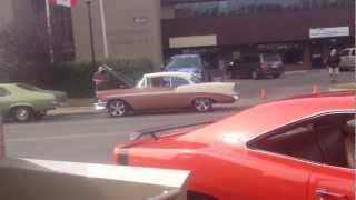 Classic Cars at Cochrane Car Show