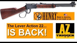 Henry .22 Lever Action Carbine Review
