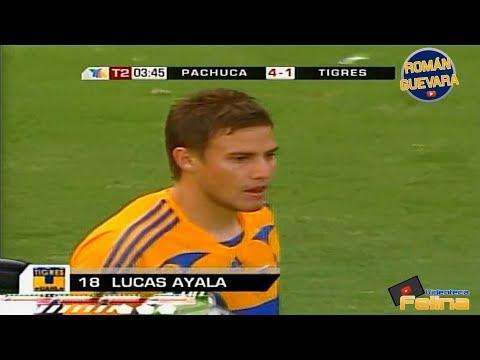 Los 2 Goles De Lucas Ayala Con Tigres HD