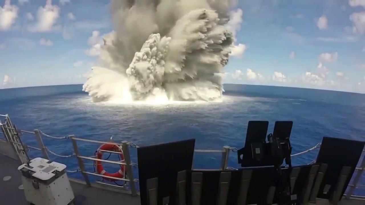 Biggest War Explosions and shock waves