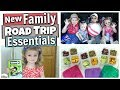 ROAD TRIP ESSENTIALS 2018 || Road Trip Survival HACKS for MOMS || Traveling with kids