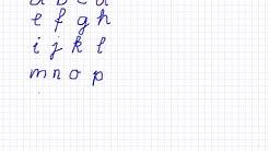 Basisschrift ABC, Schreibschrift, Schnüerlischrift, Blockschrift