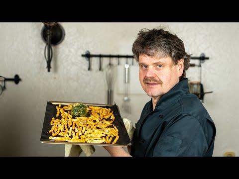 Sellerie-Pommes aus dem Ofen | Der Bio Koch