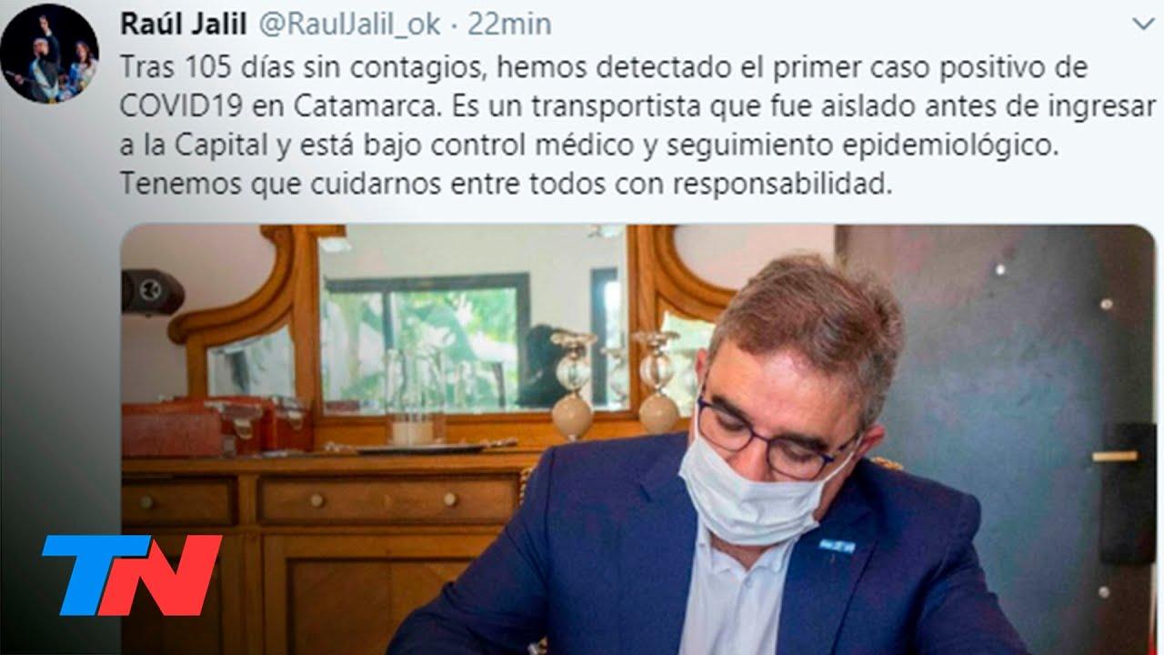 Tras 105 días de cuarentena, Catamarca confirmó el primer caso de coronavirus en la provincia