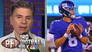 When will New York Giants make move to Daniel Jones?   Pro Football Talk   NBC Sports