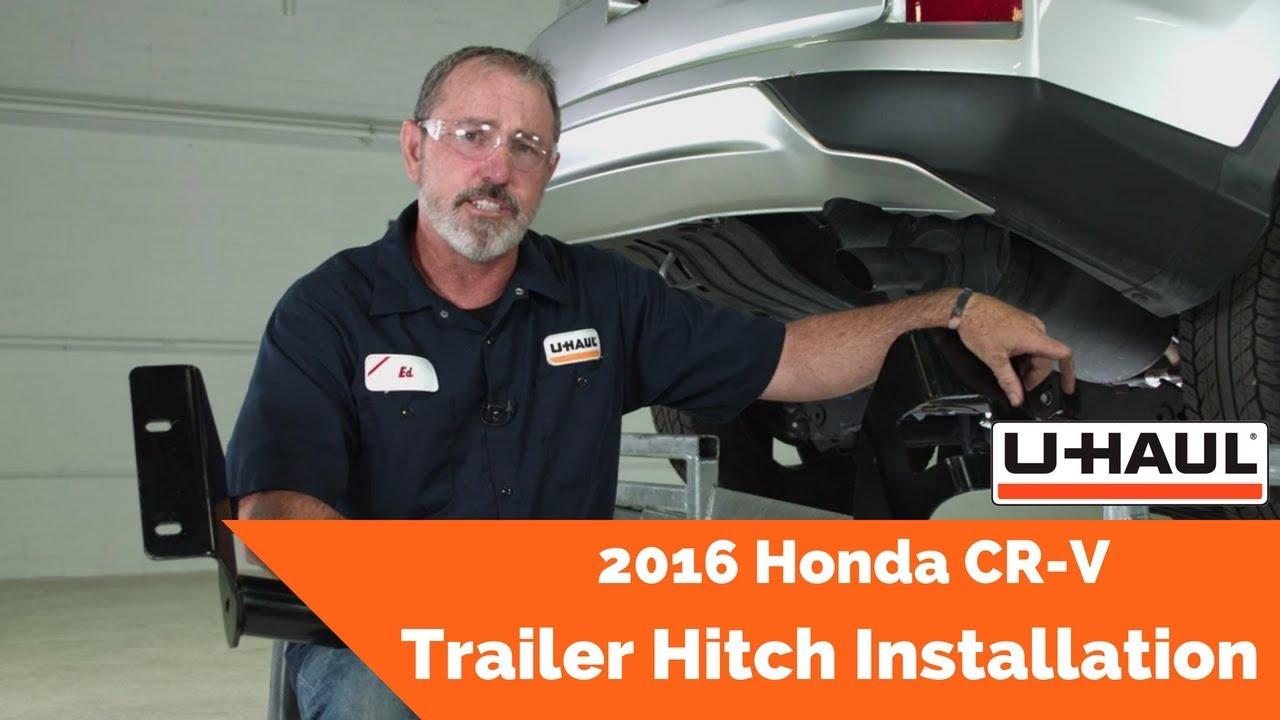 2016 Honda CR-V Trailer Hitch Installation on u-haul wiring harness diagram, u-haul wiring adapter, u-haul trailer wiring kit, toyota wiring harness, camper wiring harness, diesel wiring harness, u-haul trailer light harness,