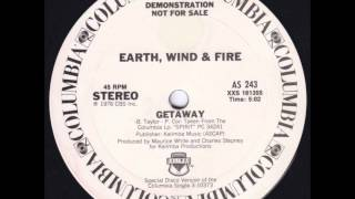 EARTH WIND & FIRE   Getaway   COLUMBIA RECORDS   1976