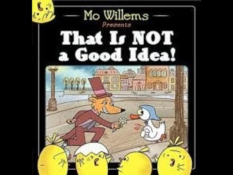 BookToons - That Is Not a Good Idea!